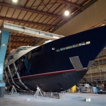 49m Lady Michelle new-build: Trinity Yachts May 2007