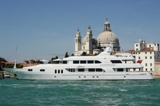 M/Y Katharine in Venice, Italy