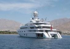 M/Y Princess Mariana anchored off Jordan